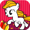 Pony Coloring Para Toddlers icon