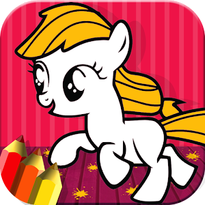 Pony Coloring For Toddlers for PC and MAC