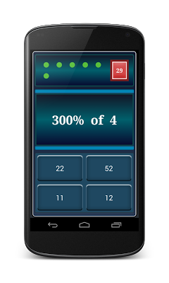 Math Percentages Practice - screenshot