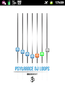 Psytrance DJ loops- screenshot thumbnail