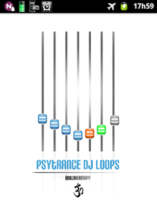 Psytrance DJ loops- screenshot
