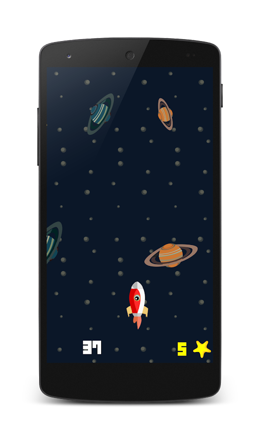 Galaxy Rocket - screenshot