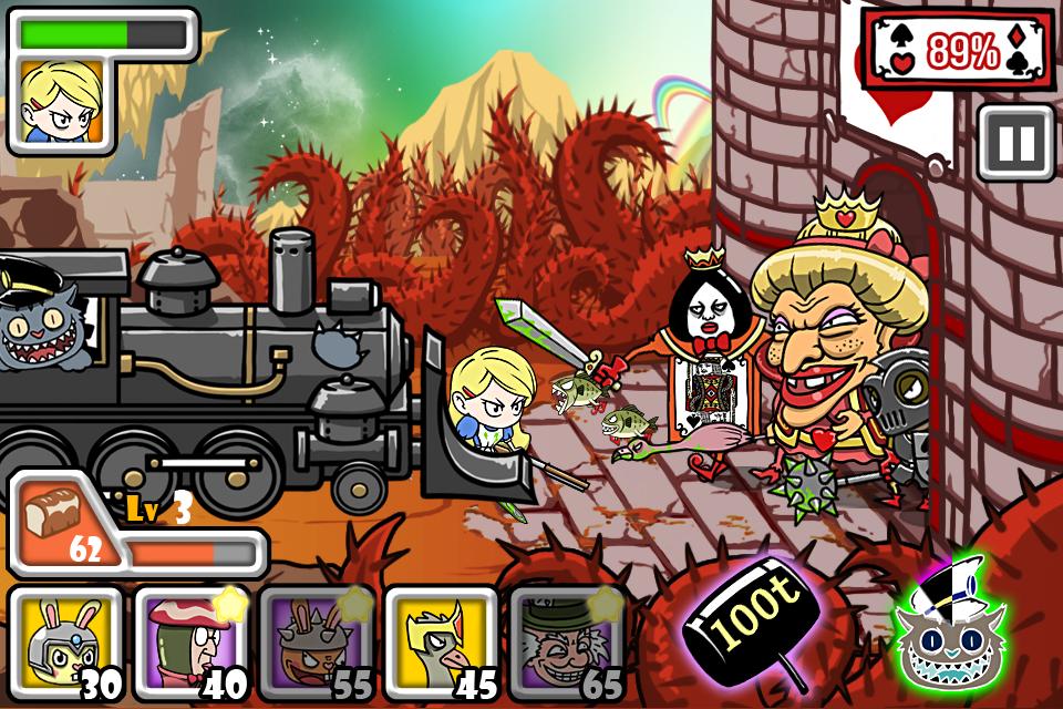 Bloody Alice Defense - screenshot