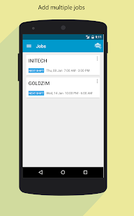 Work Mate - Shift Tracker - screenshot thumbnail