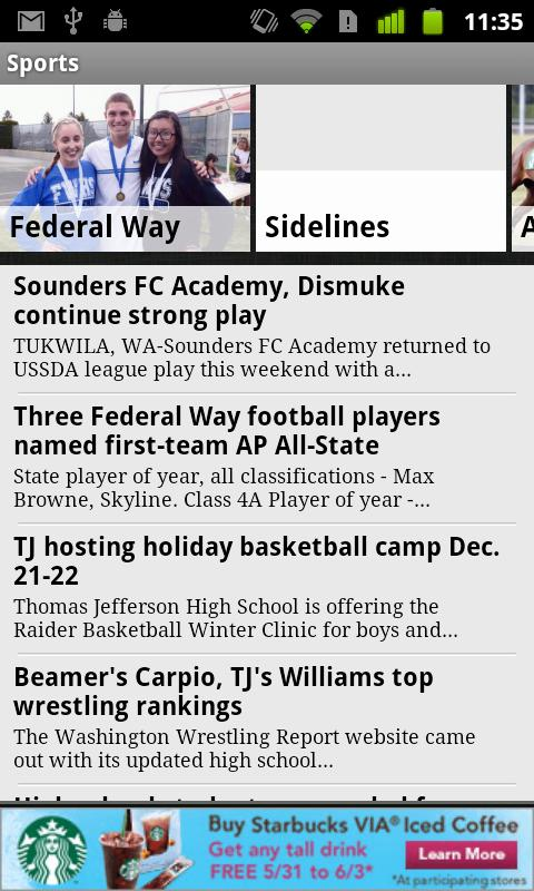 Federal Way Mirror - screenshot