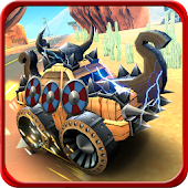 Toy Monster Truck Rally