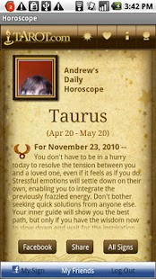 Today's Horoscopes- screenshot thumbnail
