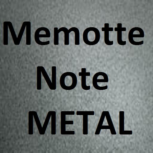 メモってノートMETAL MemotteNoteMetal 生產應用 App LOGO-硬是要APP