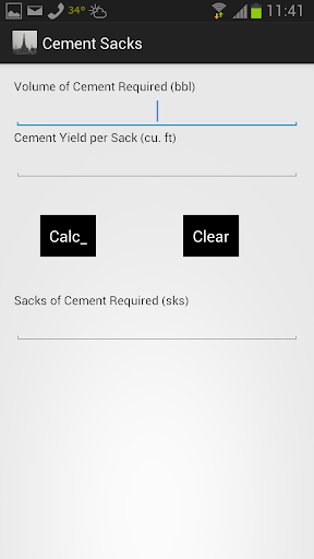 Cement Sacks for Volume Reqd