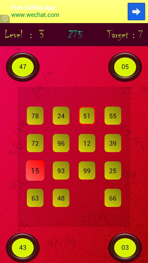 Maths Puzzle - Division - screenshot