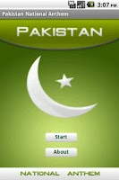 Screenshot of Pakistan National Anthem