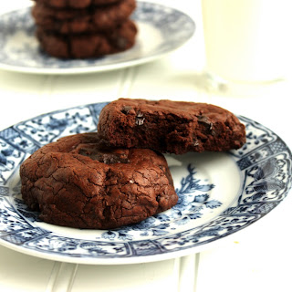 The Best Chocolate-Chocolate Chunk Cookies.