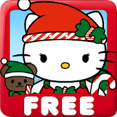 Dress Up Hello Kitty Christmas