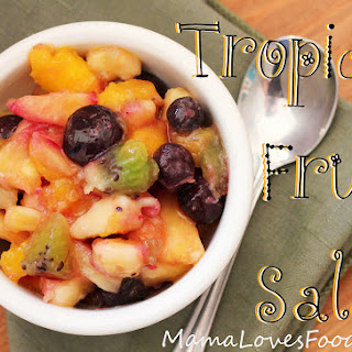 Ensalada de Fruta Fresca {Tropical Fruit Salad}