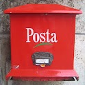 Postbox around the world ① logo