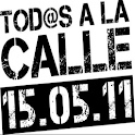 15 de Mayo (Spain on strike) logo