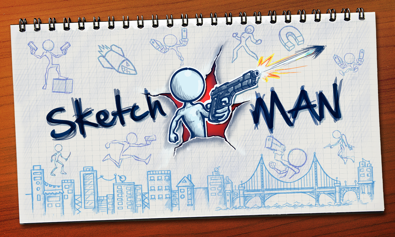Screenshots of Sketchman for iPhone