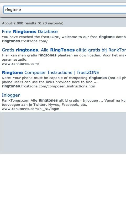 Ringtone Finder Ultra - screenshot