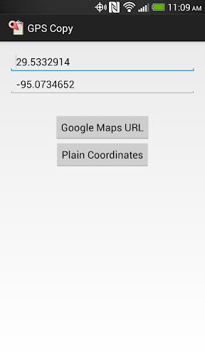 GPS Copy