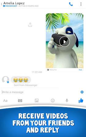 Talking Tom for Messenger 1.0 screenshot 29985