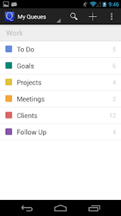 GQueues | Tasks & To-Do Lists - screenshot thumbnail