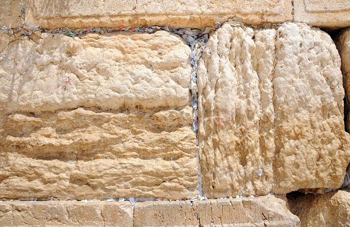 messages-in-Western-Wall - It's traditional to write a short message and place it in the Western Wall. A message on any small scrap of paper will do.