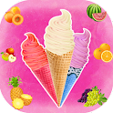 Frozen ice cream cooking games icon