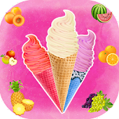 Frozen ice cream cooking games