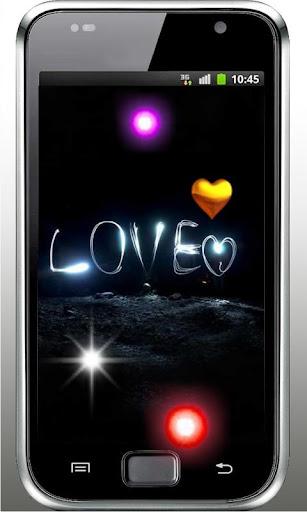 Love Neon Night Live Wallpaper