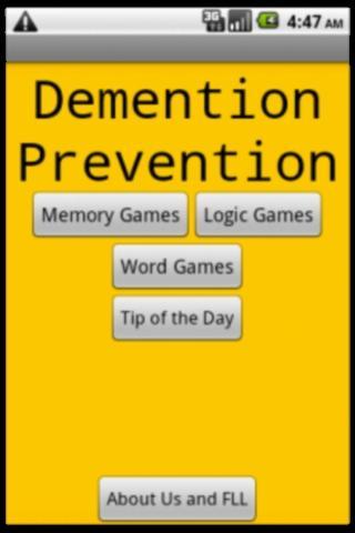 Demention Prevention