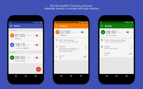 AlarmPad - Alarm clock PRO Screenshot