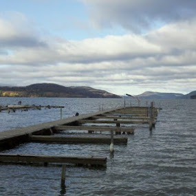Otsego Lake by Tracey Chionchio - Landscapes Waterscapes