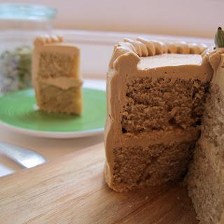 Coffee Cardamom Cake + Coffee Buttercream