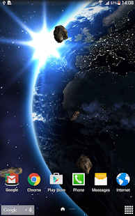 HD Space Live Wallpaper- screenshot thumbnail