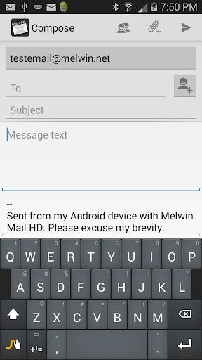 玩免費通訊APP|下載Melwin Mail HD - Email Client app不用錢|硬是要APP