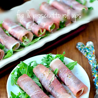 Fig & Prosciutto Roll Ups