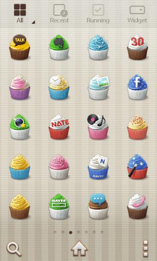 【免費個人化App】Sweet Cupcake Dodol Theme-APP點子