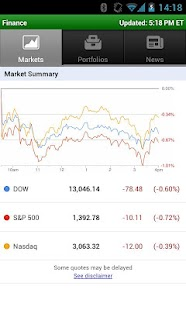 Google Finance - screenshot thumbnail