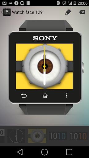Minion Clock Analog for SW2