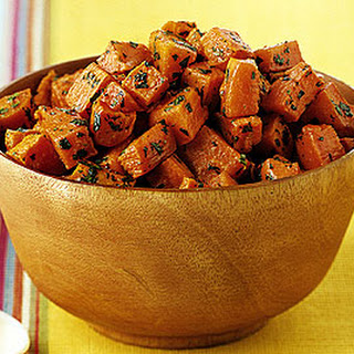 Lime Cilantro Sweet Potatoes