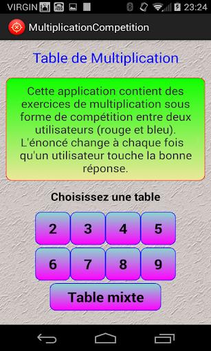 Multiplication-Compétition