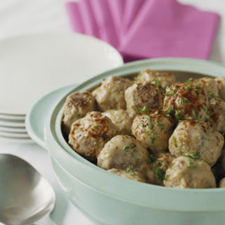 Baked Swedish Meatballs
