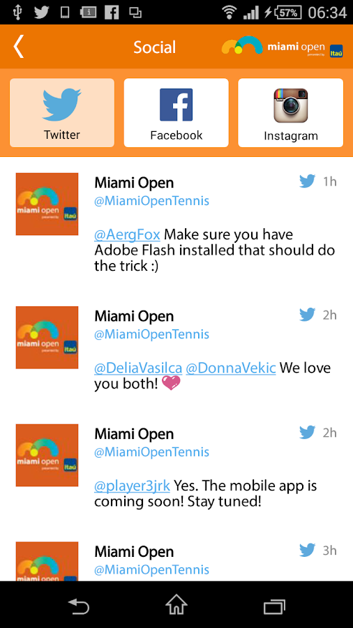 Miami Open- screenshot