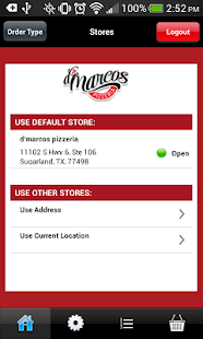 d'marcos pizzeria- screenshot thumbnail