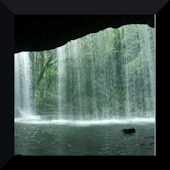 Tranquil Cave Waterfall LWP