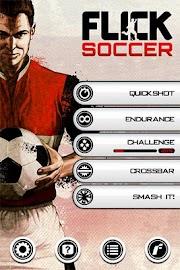 Flick Soccer! Screenshot 1