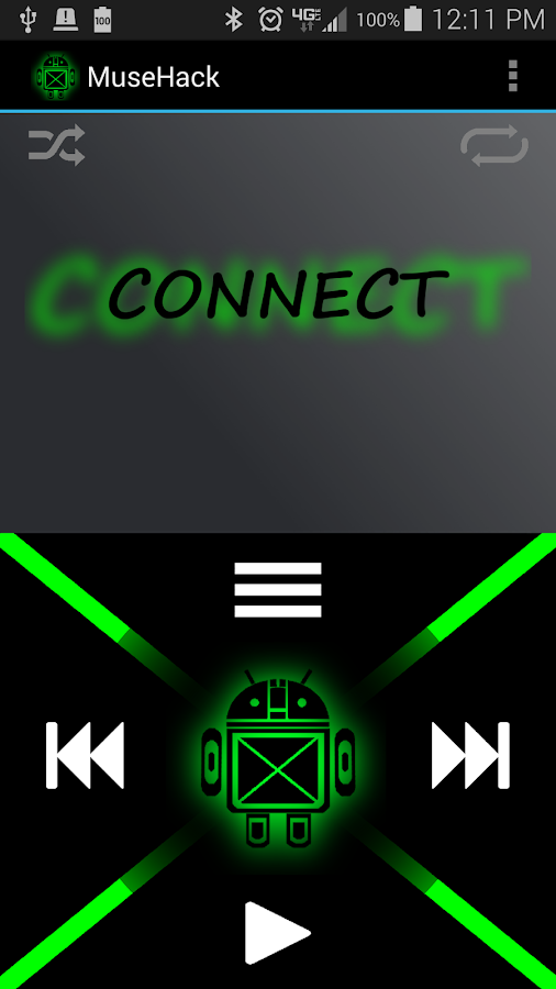 MuseHack Lite - screenshot