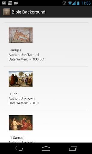 Test Bible Background App