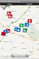 Screenshot of Kayaking GPS