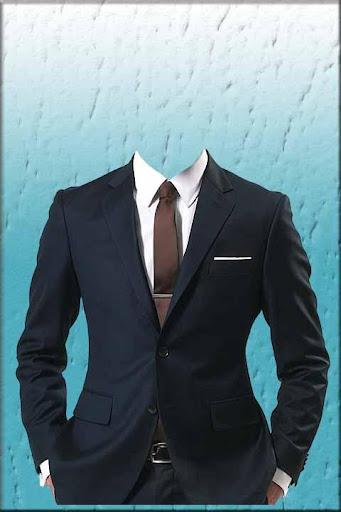 Man Black Suit Photo Montage